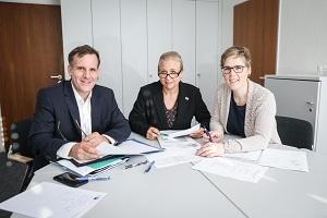 Die Jury der IHK Düsseldorf