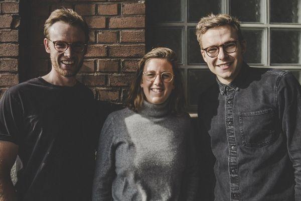 Das Gründerteam, v.l.n.r.: Nicolas Viegener, Charlotte Binder, Tim Dapprich. Bild: isaac nutrition