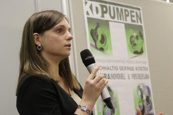 Doris Korthaus von KD Pumpen