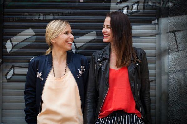 Miriam Mertens und Meike Braun von Happy Rebels